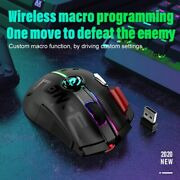 Rgb Wireless/wired 2.4g 12000dpi Mechanical Dual Mode Gaming Mouse