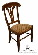 Nichols And Stone Gardener Ma Hard Rock Maple Country French Dining Side Chair