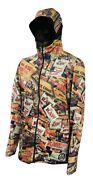 Raw Life Hooded Brazil Jacket Xl New In Package Genuine Authentic