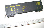 Vintage Roundhouse Ho The Family Lines System Scl/landn 50' Door Box Car W/ Kadees
