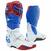 Fox Racing Instinct Mens Boots Mx - Blue Red All Sizes