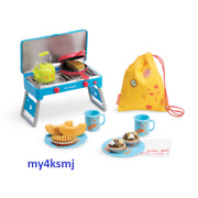 American Girl Adventure Camp Campfire Treats Set Kettle Food Stove For Kira Doll