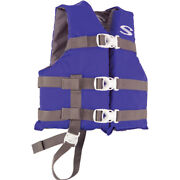 3000004471 Stearns Classic Child Life Jacket 30-50lbs Blue/grey