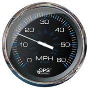 33761 Faria 5 Speedometer 60 Mph Gps Studded Chesapeake Black W/stainles...