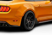 Couture Grid Wide Body Rear Fender Flares - 4 Piece For 2015-2019 Mustang