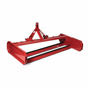 Titan Attachments 8 Ft Land Leveler And Grader For 3 Point Tractor Fits Cat 1 An