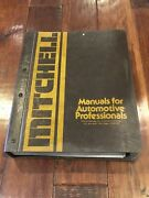 Mitchell Manuals For Automotive Professionals 1967 To 1974 Wiring Manuals