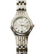 Ladies Fossil Ss Watch Es-94401 110209 Excellent Condition Superb Pricing