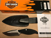 Benchmade Harley-davidson T-rod Knife 80 Of 250 First Production Rare New