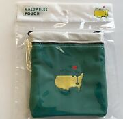 Masters Golf Valuables Pouch Augusta National 2021 Masters Tote Bag Pga New