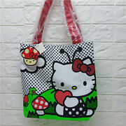 Loungefly X Hello Kitty Colorful Shopping Shoulder Tote Bag Cotton New W/ Tag