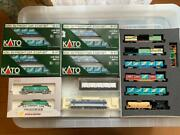 Kato Ef81-503 N-scale Model Railroad Freight Cars Assorted Set19 Cars In Total