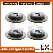 Centric Parts Disc Brake Rotor Front Rear Set Of 4 Fits Ml320 Mercedes-benz