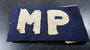 Us Army Mp Military Police Armband Made Out Of Poplin