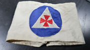Wwii Era Us Home Front Civil Defense Auxiliary Fireman Armband