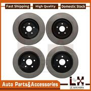 Centric Parts Disc Brake Rotor Front Rear Set Of 4 Fits Jeep Jeep 2012-2019