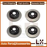 Centric Parts Disc Brake Rotor Front Rear Set Of 4 Fits Jeep Jeep 2011-2019