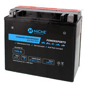 Niche Agm Battery For Buell Ducati Harley Davidson Indian Ytx20-bs