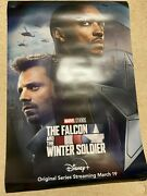 Disney Plus Falcon And The Winter Soldier Teaser 27x40 Ds Movie Poster 4a