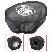 Usa Air Filter Cleaner Rain Sock Cover For Harley Softail Fxsts/d Fxdc/l Fxsb/t