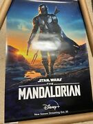 Disney Plus The Mandalorian 27x40 Double Sided Ds Movie Poster Authentic 2a