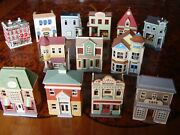 Hallmark Keepsake City Buildings Collection Ornaments With Attractive Details