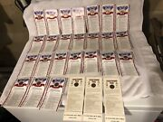 24 Pc Lot 1976 Bicentennial Lincoln Penny Card - 200 Years Of American History