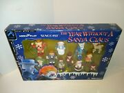 Neca The Year Without A Santa Claus 11-piece Pvc Figurine Set 2006 Christmas