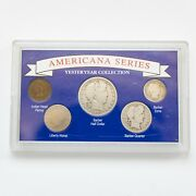 Americana Series Yesteryear Collection United States Coin Set Acrylic Case