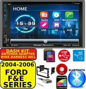 2004-2016 Ford F And E Series Bluetooth Touchscreen Dvd Cd Usb Car Radio Stereo