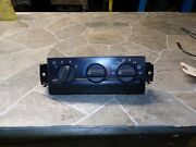 ☼1999-2005 Blazer S10/jimmy S15 Heater A/c Climate Temperature Control Oem