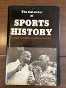 The Calendar Of Sports History By Postero And Koger - Signed By Authors - Rare