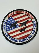 Joint Strike Fighter Jsf X-35 X-32 Us Navy Us Marines Us Air Force 3.5andrdquo Patch