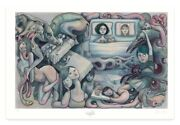 Lauren Tsai Marlowe And Waking Art Poster Print Signed And Numbered Xx/400 In Hand