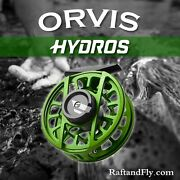 Orvis Hydros Iv Fly Reel 7-9wt Matte Green - Limited Edition 2021'