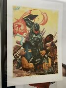 Marvel Ultron Rare Screen Print Limited Edition Poster Not Mondo Thor
