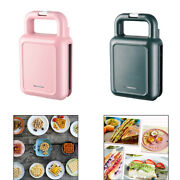 Indoor Sandwich Maker 2-in-1 Waffle Iron Waffle Maker Cool Touch Handle
