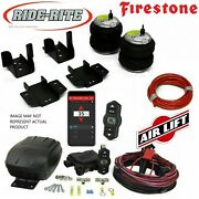 Firestone 2609 Air Bags Rear And Wireless Airlift 2019-2021 Chevy /gmc 1500