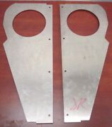 Kenworth W900a Stainless Air Cleaner Panels Ko47-877 Right And Left K-2439