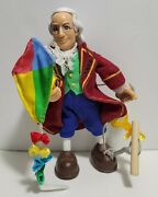 Odyssey Toys Benjamin Franklin Posable Toy Figure - Gently Used - Good Condition
