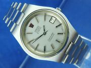 Omega Seamaster Electronic F300hz Watch Vintage Circa 70s Serviced Tuning Fork