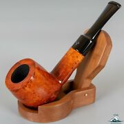 Unsmoked Silvano Smooth Partially Rusticated Slightly Bent Saddle Stem 9mm