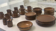 Vintage Mccoy 1413 Usa Pottery 40 Piece Set In Great Condition