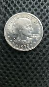 Rare 1979 Susan B Anthony Tpe 2 Clear And039sand039 Mint Mark