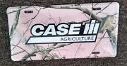 Way Cool Case Ih Pink Camoflauge License Plate Sign.....mint