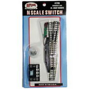 Atlas 2705 N Scale Code 80 6 Right Hand Remote Switch 10