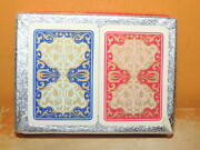New 2 Decks Piatnik Piccadilly Patience Playing Cards Plastic Treated Miniature