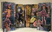 Monster High Doll Draculaura Clawdeen Boo York Mouscedes Or Elle Eedee