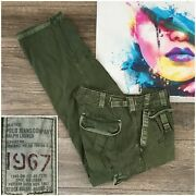 Vintage Polo Army Green Military Field Cargo Pants Mens Size 32x32