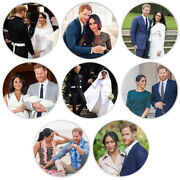 Art Ornament 8pcs William And His Wife Sliver Challenge Coin Art Craft